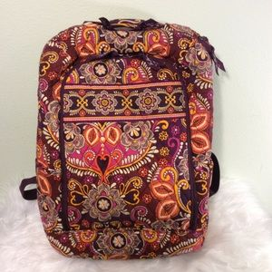 Vera Bradley backpack with laptop storage. Nice!